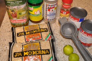 Sopa de Fideo (Mexican Alphabet Soup)