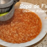 Sopa de Fideo (Mexican Alphabet Soup)