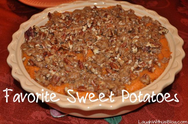 Favorite Sweet Potatoes
