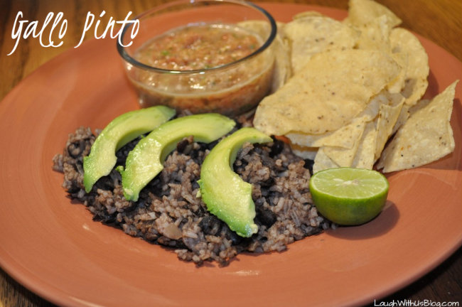 Gallo Pinto Nicaraguan Black Beans and Rice