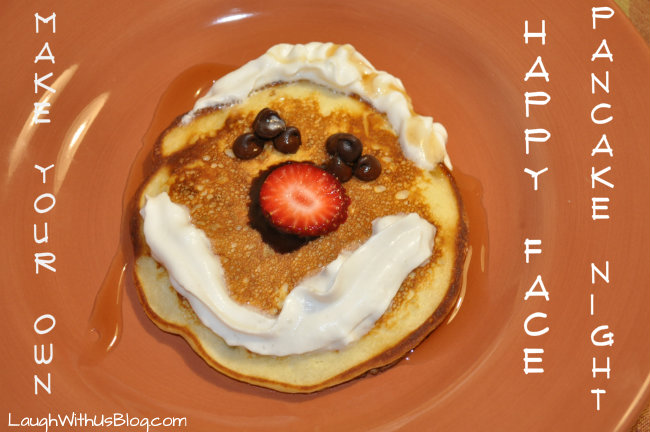 Make Your Own Happy Face Pancake Night