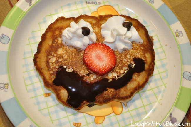 Pancake Happy Face