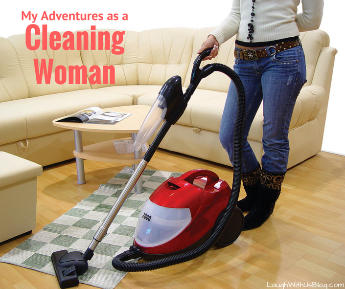 Cleaning woman--what the help goes through