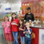 Shopping With Husband and Children–My Bright Idea