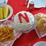 Nebraska Football Gameday Meal 2011