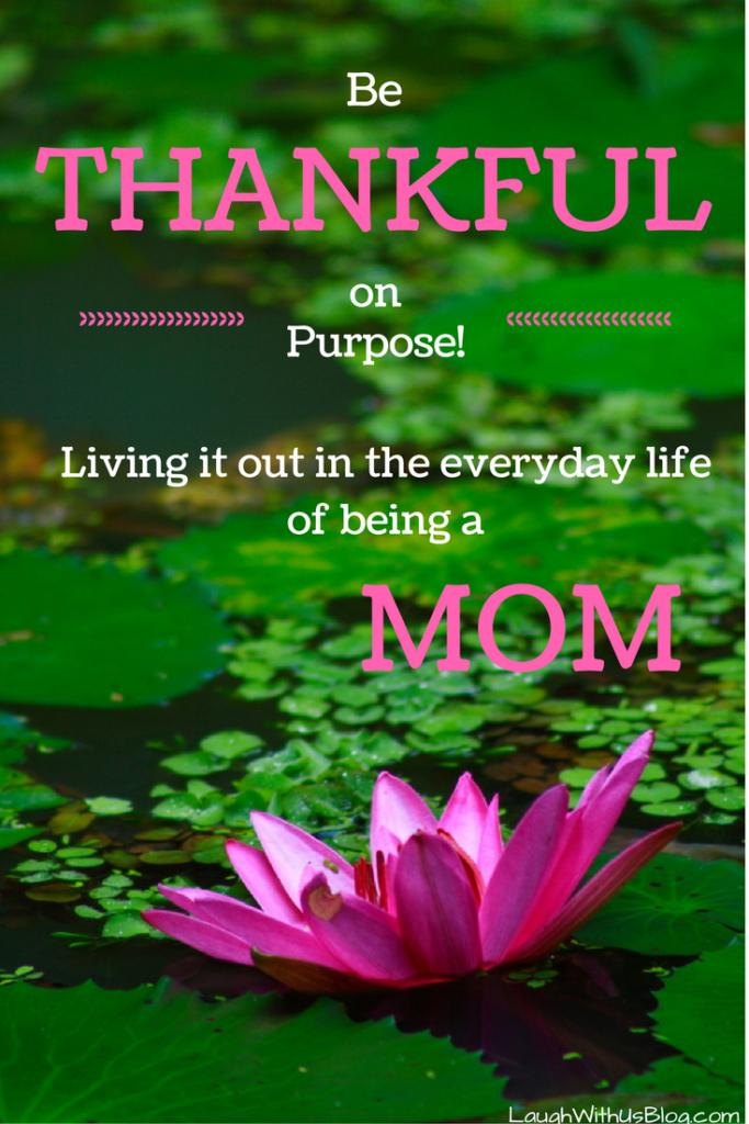 A mom's thank list