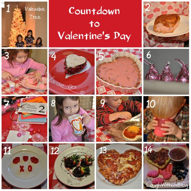 Countdown to Valentine's Day