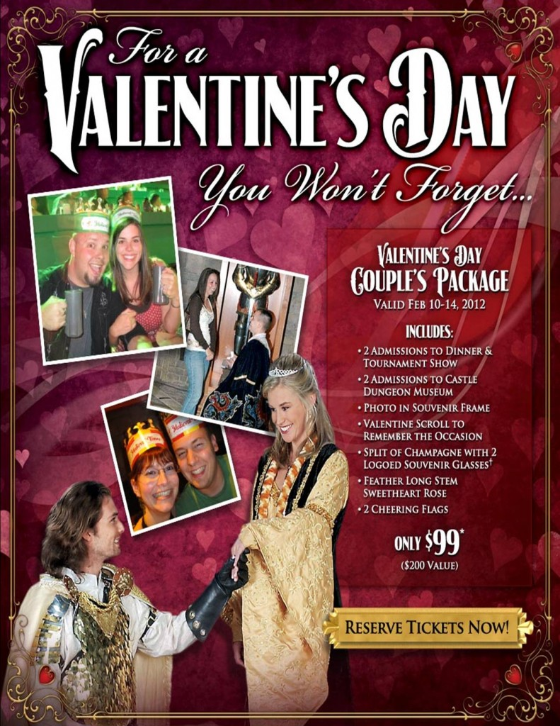 Celebrate Valentines Day At Medieval Times Dallas