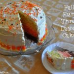 Fall Fun Cakes with #CoolWhipFrosting #CBias