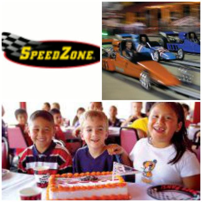 Speed zone coupons