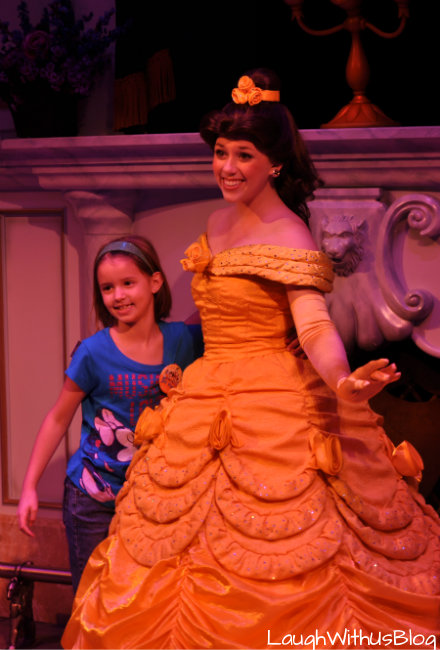 Photo with Belle