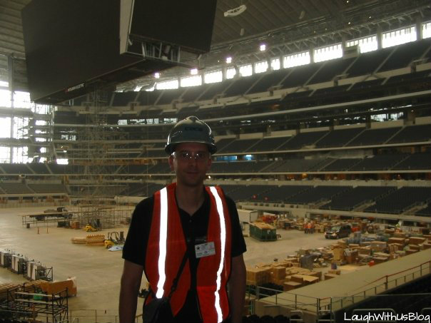 Jason at Cowboy Stadium