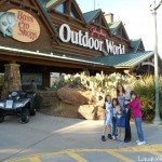 Checking out the Bass Pro Shop