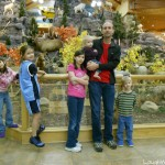 Family fun at Cabela's