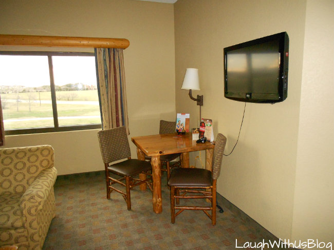 Great Wolf Lodge living area