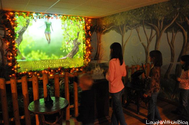 MagiQuest Pixie room