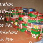 Operation Christmas Child Distribution Trip