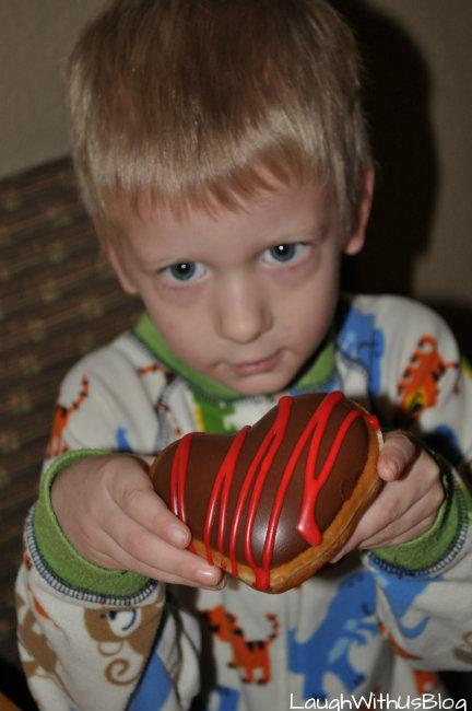 Valentine's Day Donut Krispy Kreme
