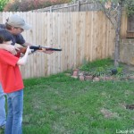 Weekend fun target shooting
