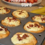 Bacon Cheese Cups with Tyson Bacon Pieces #WhatsYourTopping #cbias