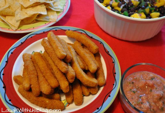 Cinco de mayo with Tyson Chicken fries