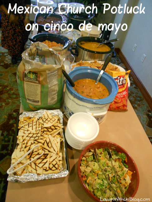 Mexican church potluck