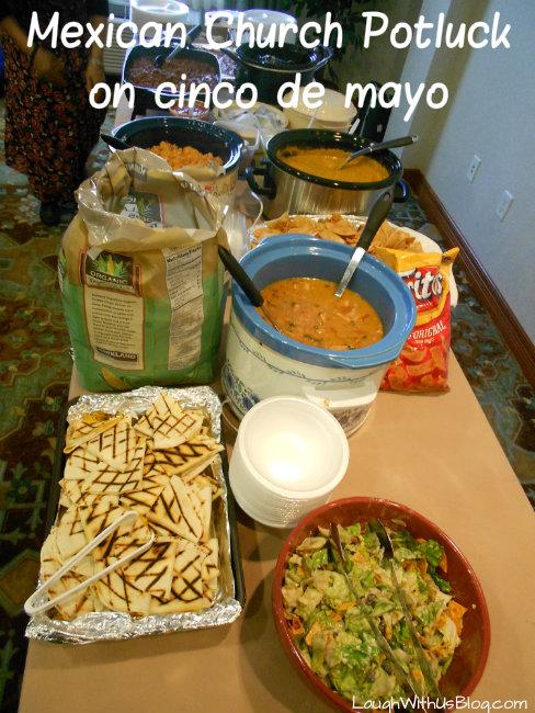 Mexican church potluck