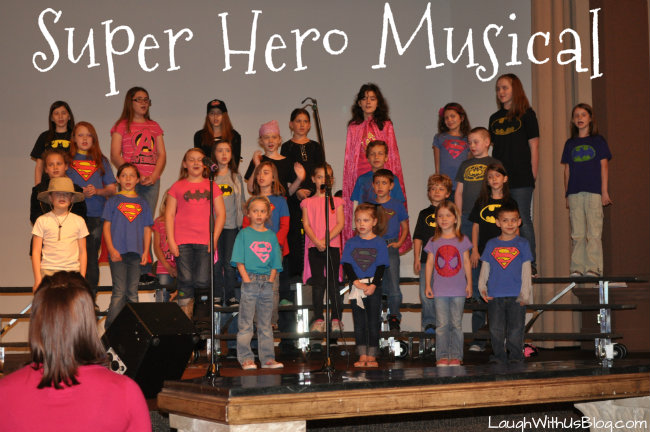 Super Hero Musical