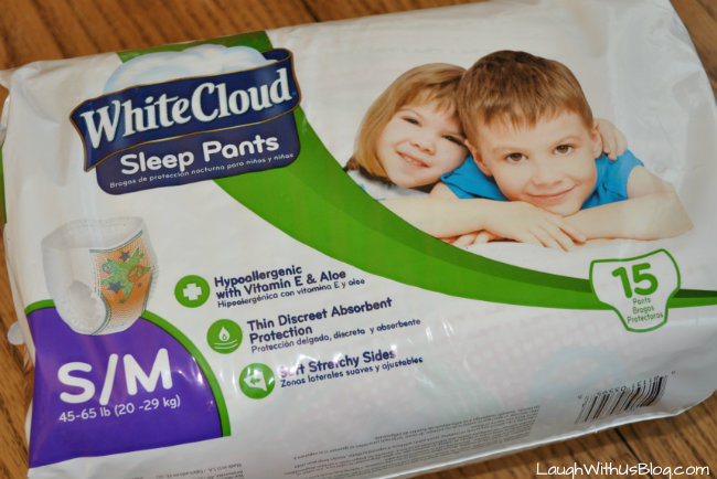 White Cloud Sleep Pants Small