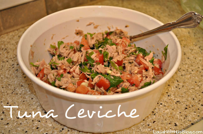 Canned ceviche recipe