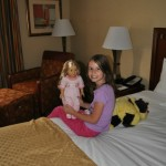 Mommy and Me at the DoubleTree