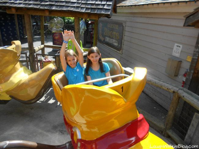 Rides at Six Flags