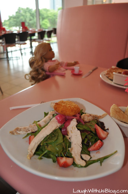 Strawberry Spinach Salad American Girl Dining