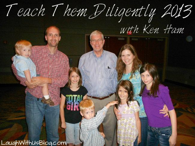 Teach Them Diligently Ken Ham