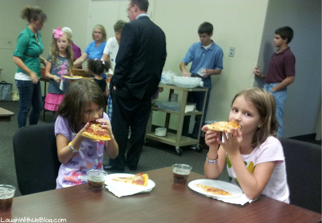Final Pizza party