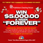 """What If You Won $5,000 A Week """"Forever""""?"""