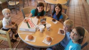 Krispy Kreme–a great way to start a birthday!