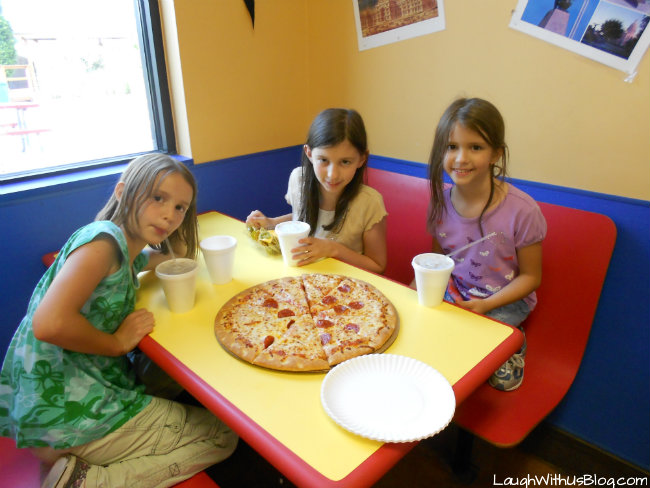 Pizza at Zone Action Park