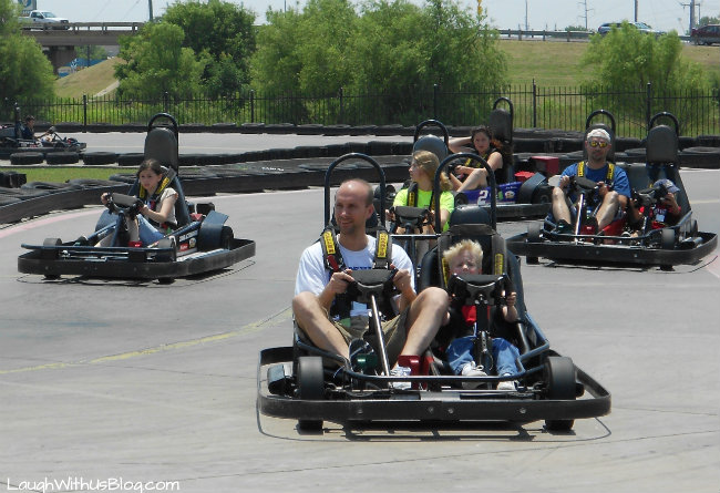 Zone Action Park Go Carts