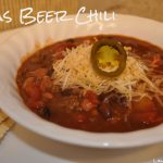 Quick Texas Beer Chili