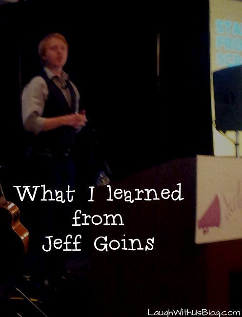 What I learned from Jeff Goins