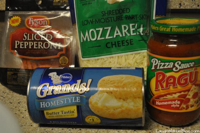 Grands! Pepperoni Pizza Bake #spon
