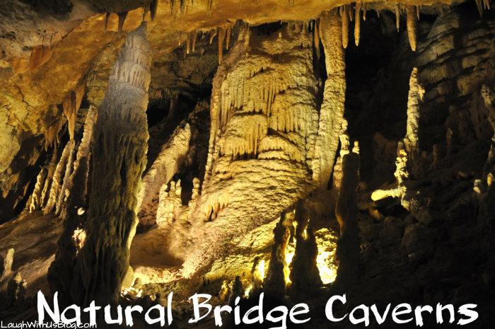 Natural Bridge Caverns #ad