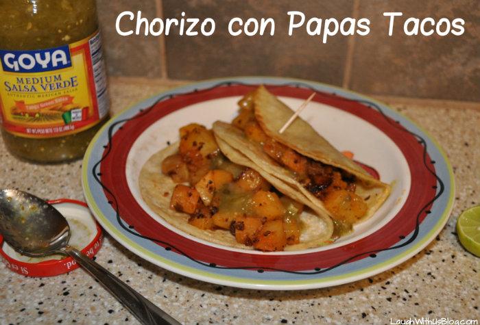 Chorizo And Potato Tacos (Tacos De Chorizo Y Papa) Recipes ...