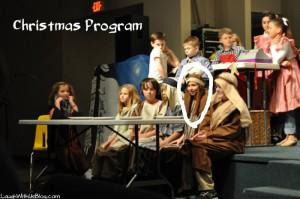 School Christmas Program
