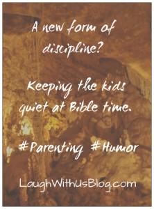 A new form of discipline?