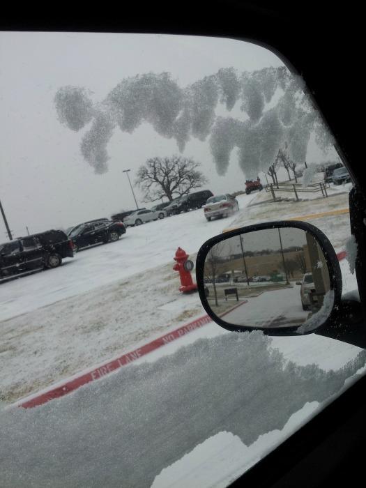 Texas snow 1