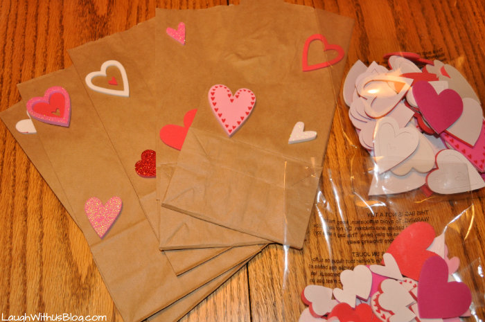 Valentine teacher bags