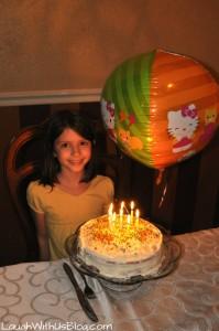 Happy 8th Birthday Grace!