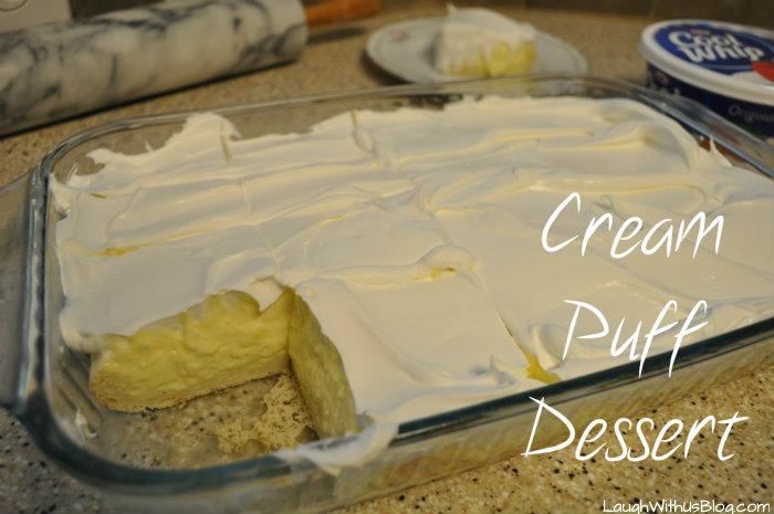 Cream Puff Dessert 2